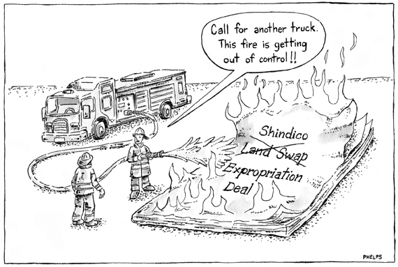 More twists and turns in the Shindico Expropriation deal.