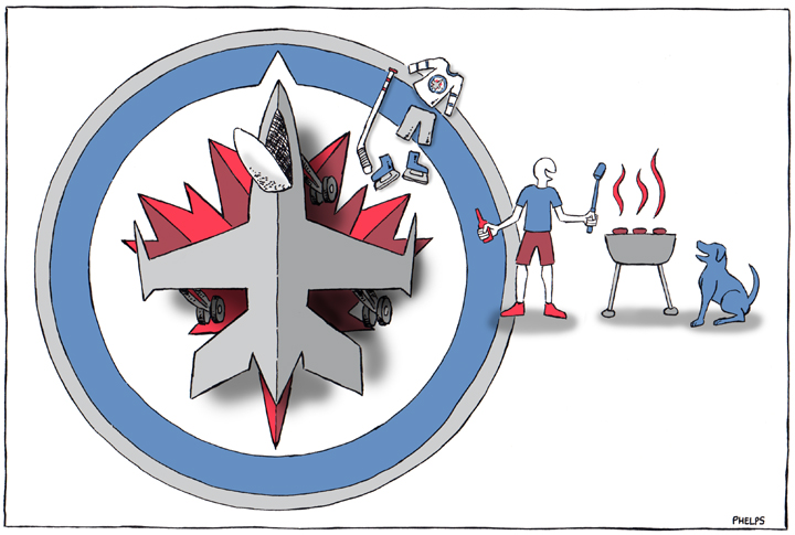 The Winnipeg Jets are done for the season.