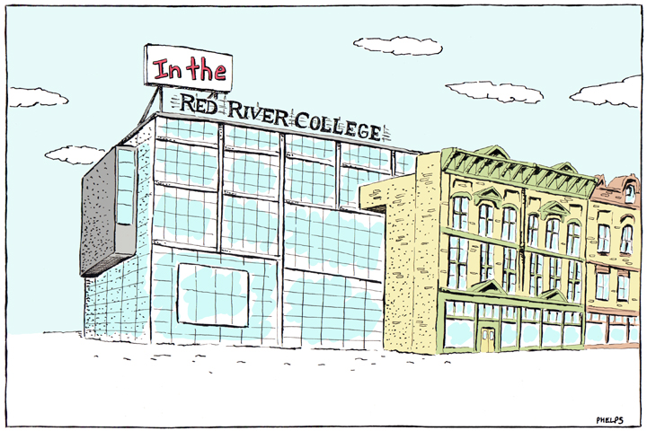 Red River College has a $2 million dollar budget shortfall.